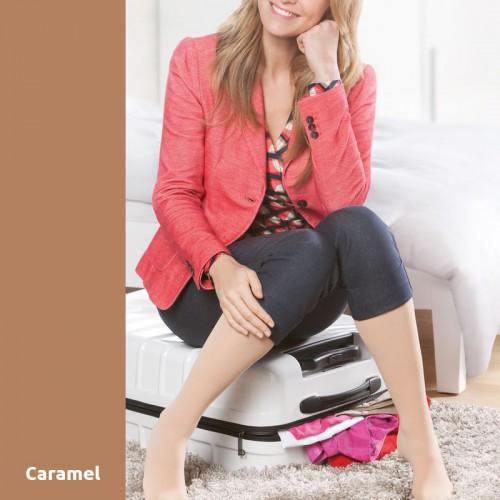 Chaussettes de Contention Mediven Microtec Caramel Classe 2
