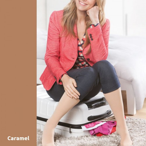 Collants de Contention Mediven Microtec Caramel Classe 2