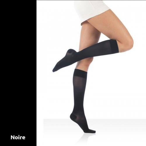 Chaussettes de contention Actys 20 Noires Classe 2