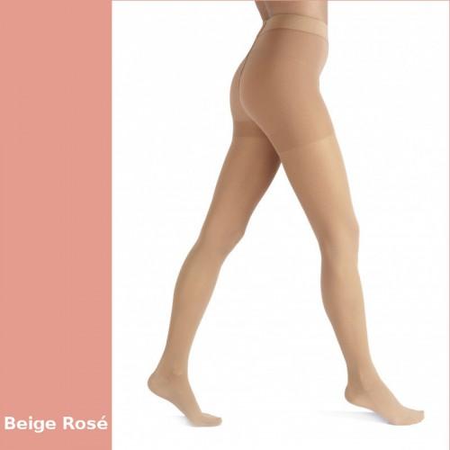 Collant de contention Actys 20 Beige Rosé Classe 2