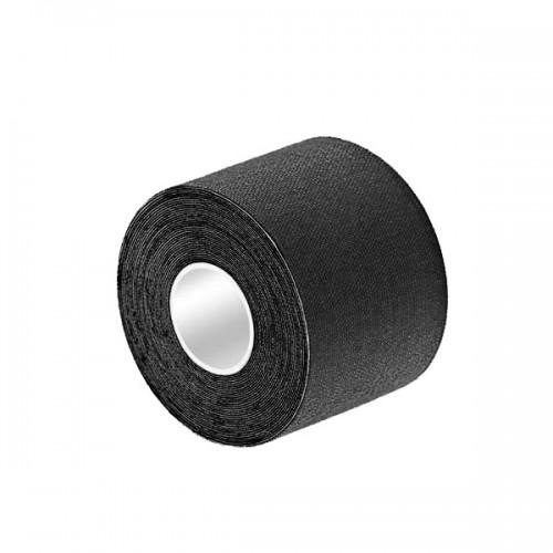 K Tape Bande adhésive noire 5cm X 5 m