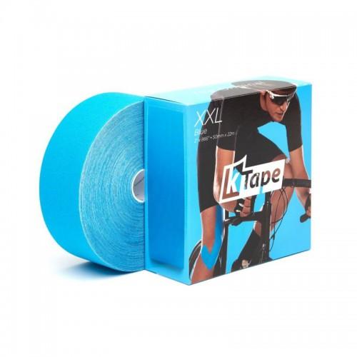 K Tape XXL Bande adhésive bleue 5cm X 22 m