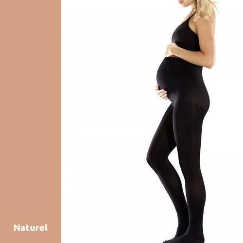 Collant de Maternité Opaque Radiante Noir