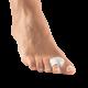 ecarteur orteil avec bague silicone pour halllux valgus