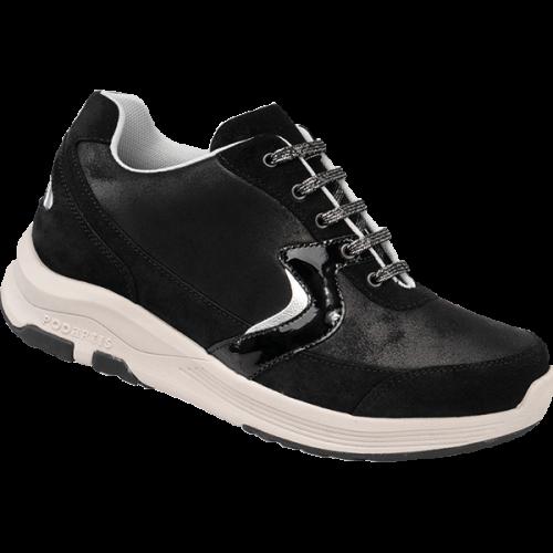 PODARTIS City Chaussure de Marche Confort Noire Femme