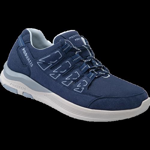 PODARTIS Chaussure de Marche Confort Bleu Homme