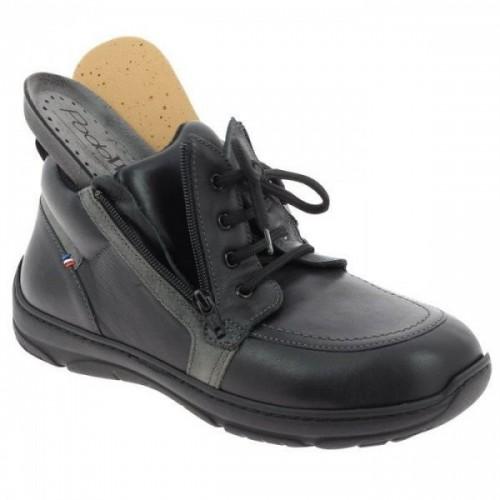 Chaussures de marche pour diabétiques semi montante en cuir OCTAVIO Podowell