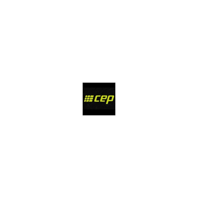 Chaussettes de compression CEP running Noires et Rose